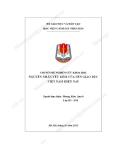 Nguyên nhân yếu kém của nền giáo dục Việt Nam