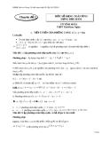 Tài liệu tham khảo ôn tập thi tốt nghiệm 2013 chuyên đề 1 một số dạng toán ứng dụng đạo hàm