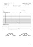 Lệnh ghi thu Ngân sách