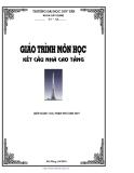 Giáo trình Kết cấu nhà cao tầng - Th.s Phạm Phú Anh Duy