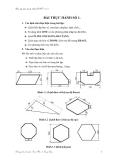 Bài tập thực hành Auto Cad 2007 - Bài thực hành số 1