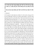 Bài tập môn kinh tế thương mại