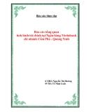 """Báo cáo thực tập """"Báo cáo tổng quan tình hình tài chính tại Ngân hàng Vietinbank, chi nhánh Cẩm Phả - Quảng Ninh"""""""