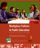 Workplace Policies in Public Education A review focusing on HIV/AIDS