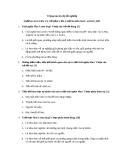 Câu hỏi : NHỮNG NGUYÊN LÝ CƠ BẢN CỦA CHỦ NGHĨA MAC-LENIN_HP1