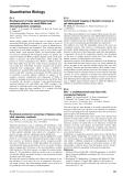 Báo cáo khoa học: Quantitative Biology