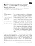 Báo cáo khoa học: Analysis of dopamine transporter gene expression pattern ) generation of DAT-iCre transgenic mice
