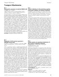 Báo cáo khoa học: Transport Machineries