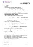 Tóm tắt lý thuyết hoá học 11
