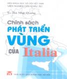 Ebook Chính sách phát triển vùng của Italia - TS. Bùi Nhật Quang