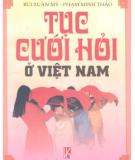 Phong tục cưới hỏi ở Việt Nam