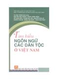 Ebook Tìm hiểu ngôn ngữ các dân tộc ở Việt Nam - NXB Khoa học xã hội