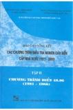 Báo cáo tổng kết chương trình điều tra nghiên cứu biển cấp nhà nước 1997 -2000 (tập 2)
