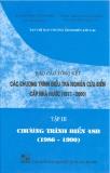 Báo cáo tổng kết chương trình điều tra nghiên cứu biển cấp nhà nước 1997 -2000 (tập 3)