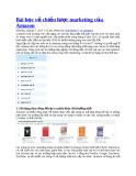 Bài học về chiến lược marketing của Amazon