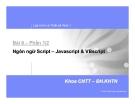 Lập trình và thiết kế web 1 Bài 6