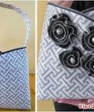 Túi xách năng động với khóa dây trang trí độc đáo