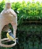 Lồng chim độc đáo tái chế từ vỏ chai nhựa