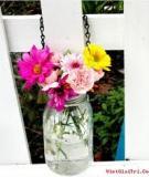 3 bước đơn giản biến lọ thủy tinh thành bình hoa bắt mắt