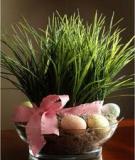 Hướng dẫn làm bát cỏ xinh xinh tô điểm bàn ăn nhà mình