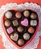 Kẹo chocolate từ đất nặn cho ngày Cá tháng Tư cực vui