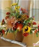 Đón xuân sang với bình hoa rực rỡ