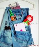 7 ý tưởng tái chế đồ jeans cũ cực