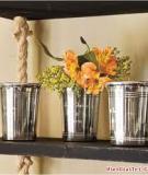 Tự làm giá treo đa dụng cho nhà mình gọn đẹp hơn