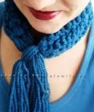 4 bước đơn giản để làm khăn len không cần đan