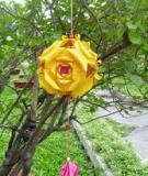 Đón Tết, trang trí nhà mình với quả cầu hoa rực rỡ