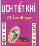 Ebook Lịch tiết khí với lễ tục dân gian - Trần Đình Tuấn