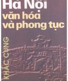 Văn hóa và phong tục ở Hà Nội