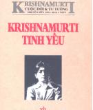 Cuộc đời và tư tưởng - Krishnamurti tinh yếu