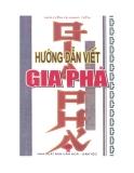 Hướng dẫn viết gia phả -  Nguyễn Quang Tiển