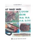 Hướng dẫn nuôi lươn, ếch, ba ba, cá lóc