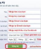 Tạo form điền thông tin trong Word 2010