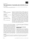 Báo cáo khoa học: The reconstitution of mammalian prion infectivity de novo
