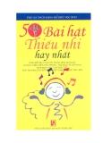Ebook 50 Bài hát thiếu nhi hay nhất - NXB Văn hóa thông tin