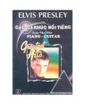 Elvis Presley với các ca khúc nổi tiếng soạn cho đàn piano - guitar