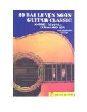 Ebook 20 bài luyện ngón guitar calssic