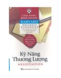 Cẩm nang Kinh doanh Harvard (Harvard business essentials): Kỹ năng thương lượng
