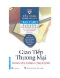 Ebook Cẩm nang kinh doanh Harvard - Giao tiếp thương mại