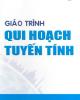 Giáo trình Qui hoạch tuyến tính - TS. Võ Văn Tuấn Dũng
