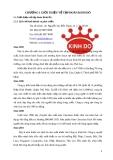 Giới thiệu tập đoàn Kinh Đô