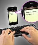5 bàn phím bluetooth phổ biến dành cho máy tính bảng Android