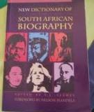 New Dictionary of South African Biography