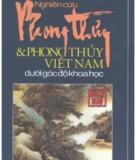 Phong thủy Việt Nam và nghiên cứu phong thủy dưới góc độ khoa học