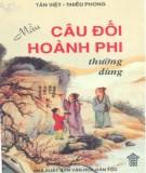 Ebook Mẫu câu đối Hoành phi thường dùng - NXB Văn hóa dân tộc