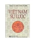 Lịch sử Việt Nam - Việt Nam sử lược