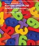 RECENT ADVANCES IN AUTISM SPECTRUM DISORDERS - VOLUME II